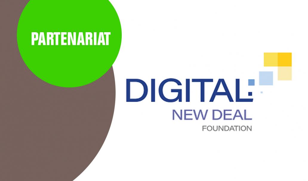 Partenariat avec le Digital New Deal Foundation